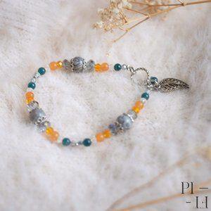 2/50$ bracelet natural jasper gemstones